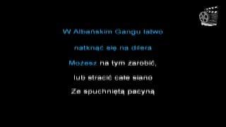 Muzyka #8 Gang Albanii - Marihuana [Karaoke] [Podkład] [Lyrics]