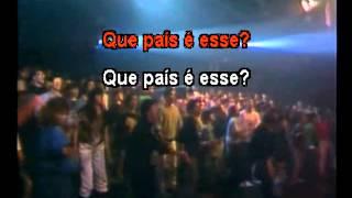 Legião Urbana - Que país é esse - Karaoke