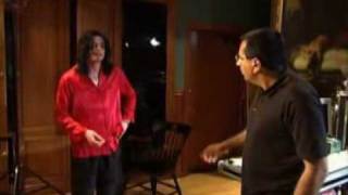 Michael Jackson Teaching Moon Walk