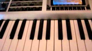 How to play Mobb Deep Shook Ones on Piano