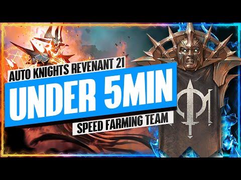 "Knights Revenant 21 UNDER 5MIN ""Speed Farming"" Team | Faction Wars Guide | RAID: Shadow Legends"