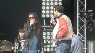 Balances-Sofia Essaïdi et Florent-On ira-Generation W9 live le 15 juin 2013