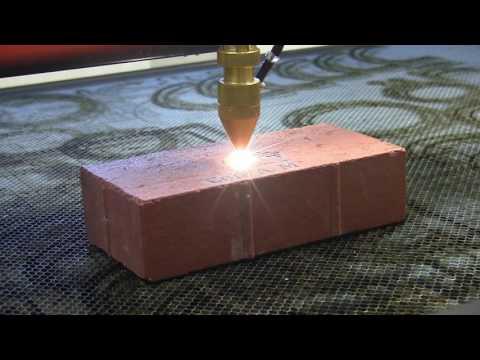 AP Lazer: Watch us Laser Engrave a Brick