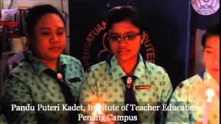 WAGGGS Guiding Light video by Cadet Guides, Malaysia