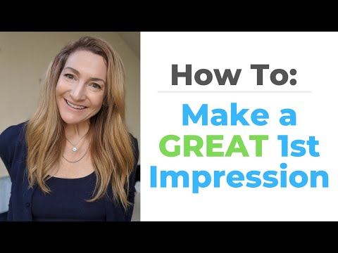 How To Make A GREAT 1st Impression Every Time! photo
