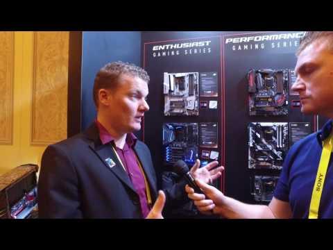 CES i Las Vegas 2017: MSI Gamings nye hovedkort