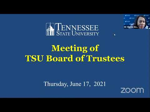 BOT Live Streamed Meeting 6-17-2021