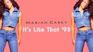 """Mariah Carey - It's Like That [Initial Talk """"It's Like 1993"""" Remix] @InitialTalk"""