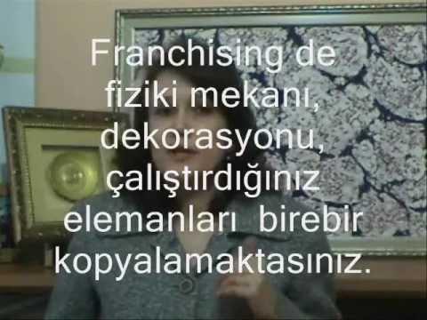 Franchising Nedir? 4 - Franchising'in Bayilik Sisteminden Farklılığı Doç Dr Emine Aksoyer