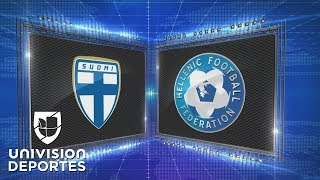 Finlandia 2-0 Grecia - GOLES Y RESUMEN - Liga C - Grupo 2 - UEFA Nations League