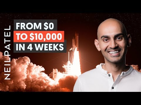How to (Actually) Start a Business And Go From $0 to $10,000 in 4 Weeks