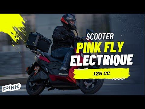 Maxi-scooter électrique 125cc Pink Fly