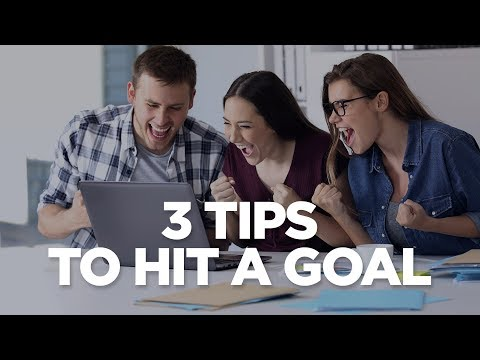 3 Tips To Hit A Goal - Young Hustlers LIVE at 12pm EST photo