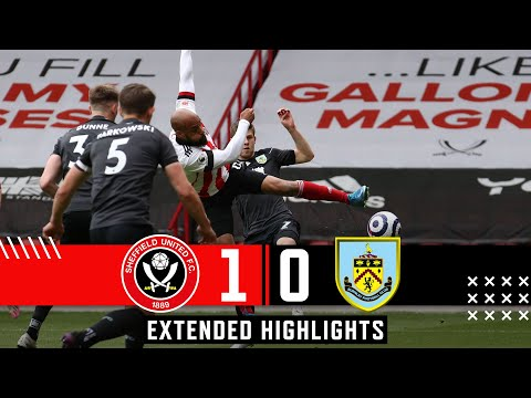 Sheffield United 1-0 Burnley | Extended Premier League highlights