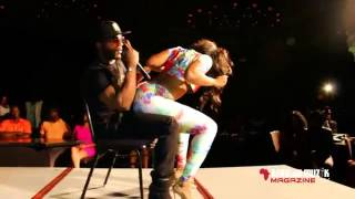See what this girl did to Iyanya in Newyork.... UK are you ready Carnival Monday 25th Aug