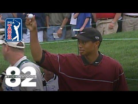 Tiger Woods wins 1999 WGC-NEC Invitational Chasing 82