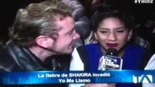 Shakira yo me llamo Ecuador La mejor doble
