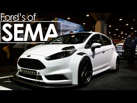 Ford's of SEMA 2016 | Ford Display