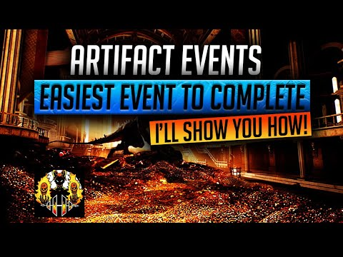 RAID: Shadow Legends | HOW TO EASILY COMPLETE THE ARTIFACT EVENTS?! EASIEST EVENTS TO MAX REWARDS!