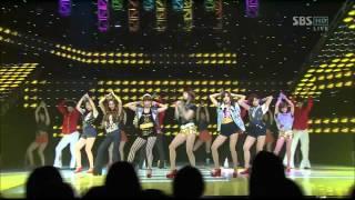 T-ara - Roly Poly in Copacabana (SBS Inkigayo 110807) Live HD