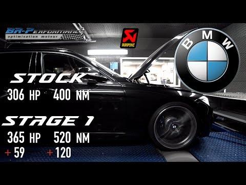 BMW F3x 335i Stage 1 & Akrapovic Exhaust System By BR-Performance