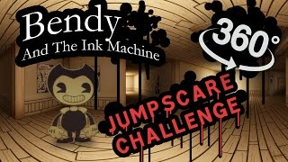 Bendy and the Ink Machine 360: Jumpscare Time!