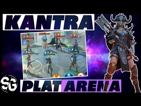 KANTRA PLANTINUM ARENA RAID SHADOW LEGENDS KANTRA ARENA GAMEPLAY
