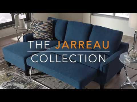 Jarreau Blue Queen Sofa Sleeper 1150371 Sleeper Sofa B M