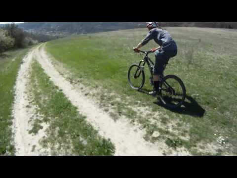Mountain bike in Central Crimea, Крым 2010 (#2)
