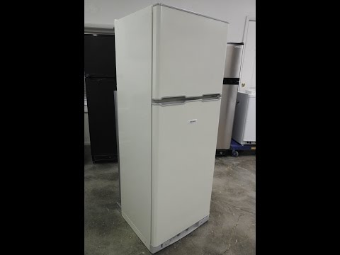 Dometic RGE400 propane and 110V AC dual powered refrigerator freezer from BensDiscountSupply.com