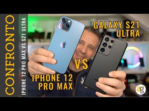 Galaxy S21 ULTRA vs iPhone 12 PRO MAX CO …