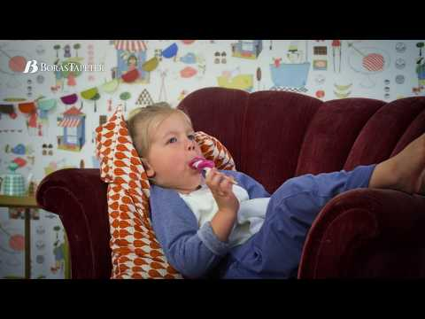 Веселые мотивы работы Стига Линдберга | Boråstapeter