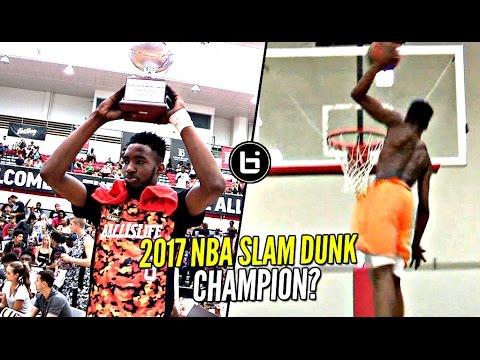 Derrick Jones Jr 2017 NBA Slam Dunk Contest Winner!? He Hasn't Lost a Dunk Contest YET