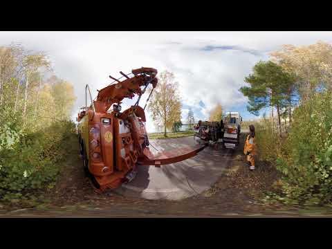 360-film Putte Bärgare