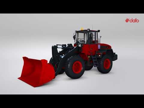 Forrex Fire Suppression System for weel loaders