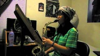 Bourree Anglaise-Alto Saxophone Etude
