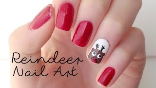 EASY Reindeer Nails! | DIYDazzleNails