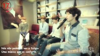 [Legendado PT/BR] SEVENTEEN Vocal Practice Video 1