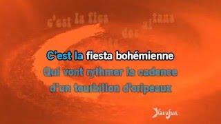 Karaoké La fiesta bohémienne - Luis Mariano *