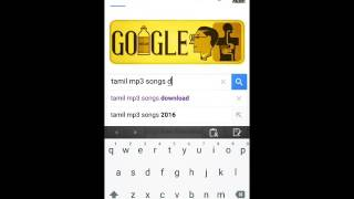 How to download Tamil mp3 songs with uc browser your android mobile phones