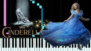 LAVENDER'S BLUE (Dilly Dilly) - CINDERELLA| piano cover| Synthesia