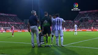 GIRONA F.C., 0; REAL VALLADOLID, 0 (LIGA 18/19, JORNADA 1, 17-08-2018)
