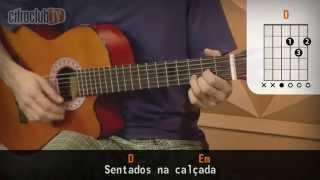 Videoaula Depois da Meia-Noite (aula de violão simplificada)