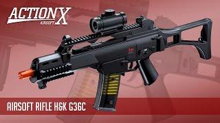 Review - Rifle de Airsoft H&K G36C