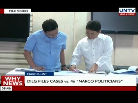 "DILG files cases vs 46 ""narco politicians"""