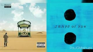 """""""Let Me Shape You"""" Mashup Of Ed Sheeran x DJ Snake/Justin Bieber"""