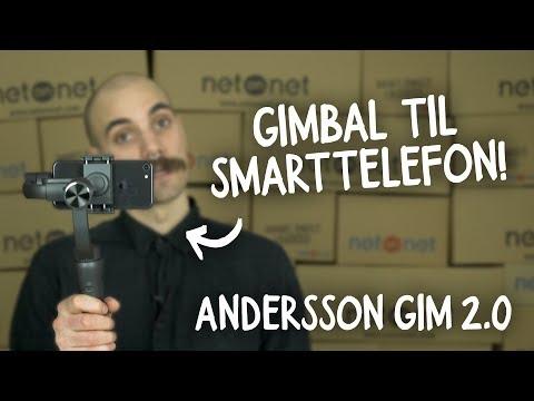 NetOnNet - Andersson GIM 2.0 (gimbal for smarttelefon)