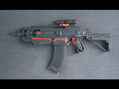 NERF MODULUS ASSAULT RIFLE [VLADOF BORDERLANDS REPLICA]
