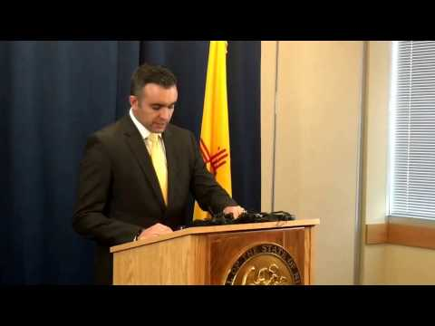 District Attorney Raúl Torrez announcement in Perez/Sandy cases