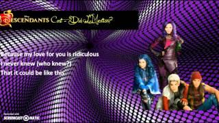 Descendants Cast - Did I Mention (Lyrics Video)
